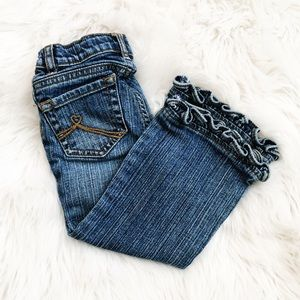 🎀 Children's Place Ruffle Jeans